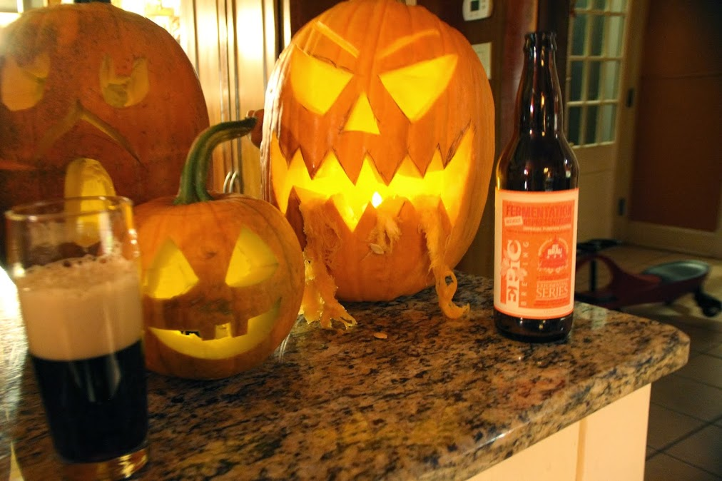You want some pumpkin beer craft beer nation Pumpkin carving beer